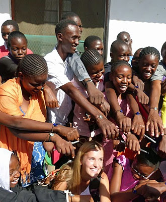 Leadership Training with One Bead from the USA – Aug 2014