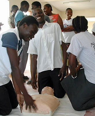 1st Aid Training for Kesho Students
